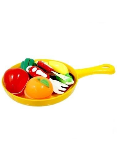 Birlik Oyuncak Urt007- Tavada Kesilebilen Meyve Sebze 15 Parça Renkli